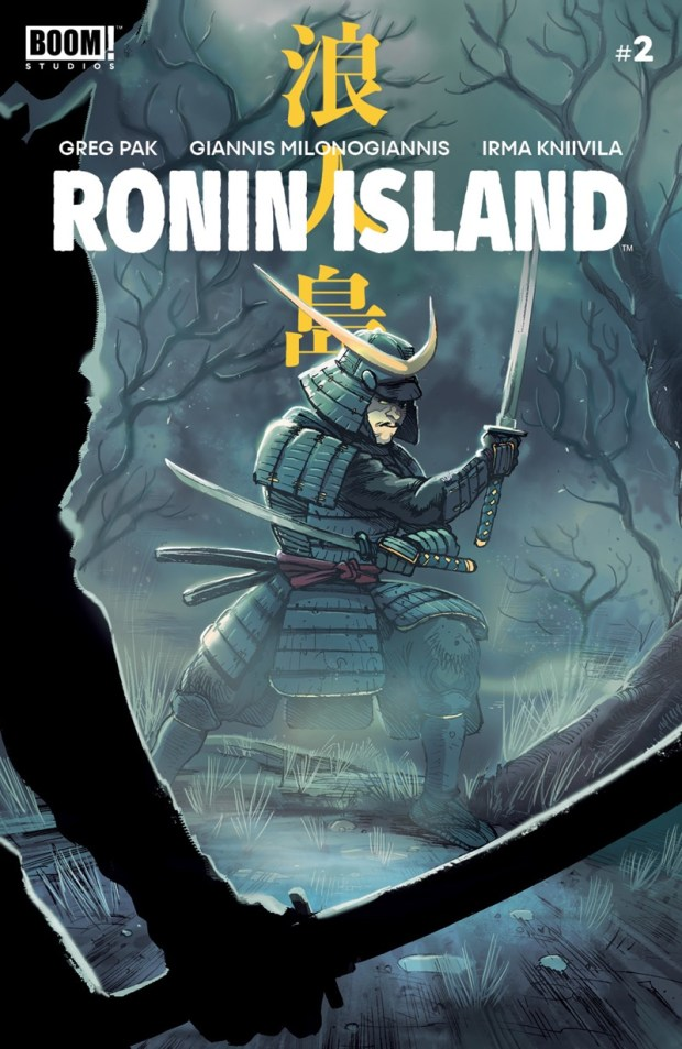 Ronin Island #2 cover