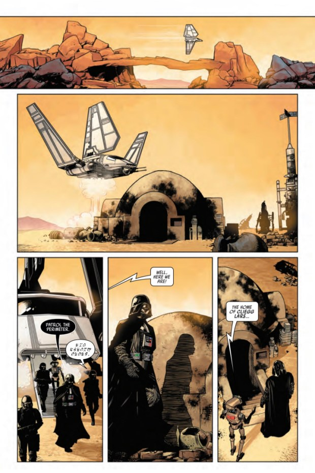Darth Vader #1 preview page 1