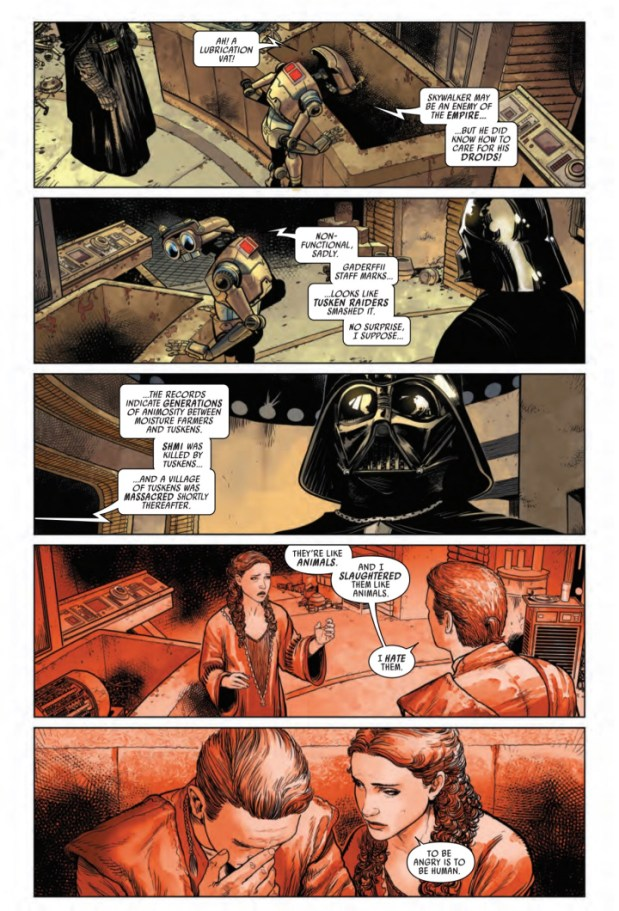 Darth Vader #1 preview page #4