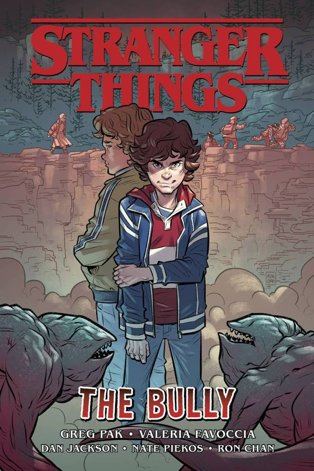Stranger Things: The Bully cover by Ron Chan