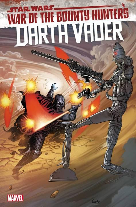 Darth Vader #13 cover by Aaron Kuder and Richard Isanove.