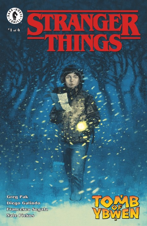 Marc Aspinall's cover for STRANGER THINGS: TOMB OF YBWEN.