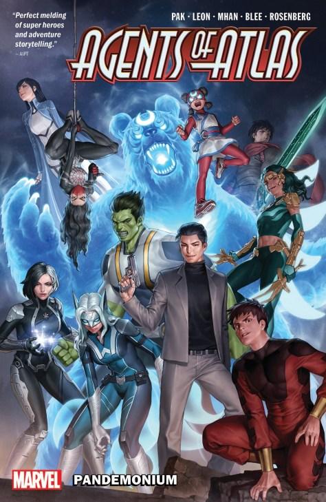 Agents of Atlas: Pandemonium cover