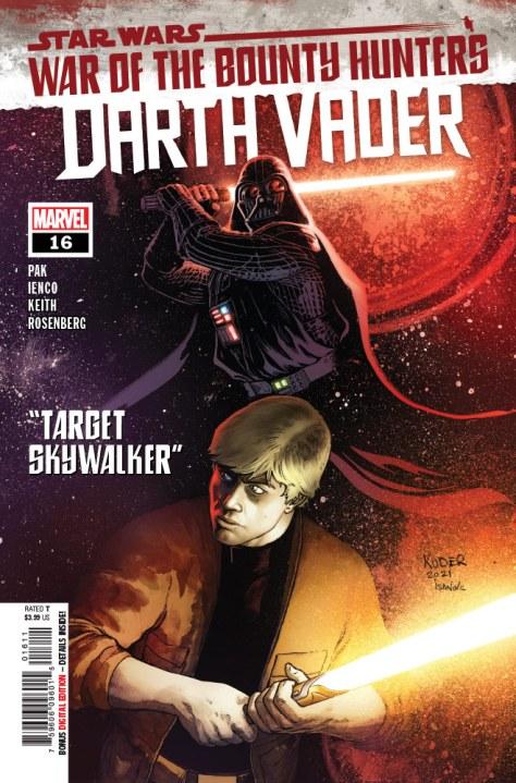 Darth Vader #16 cover