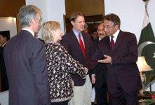 Hillary and Musharraf