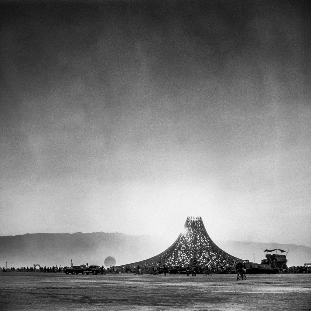 The Temple at Burning Man