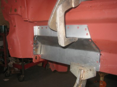 Rust Replacement, rear body