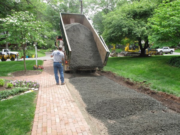 crushed stone - gregs landscaping