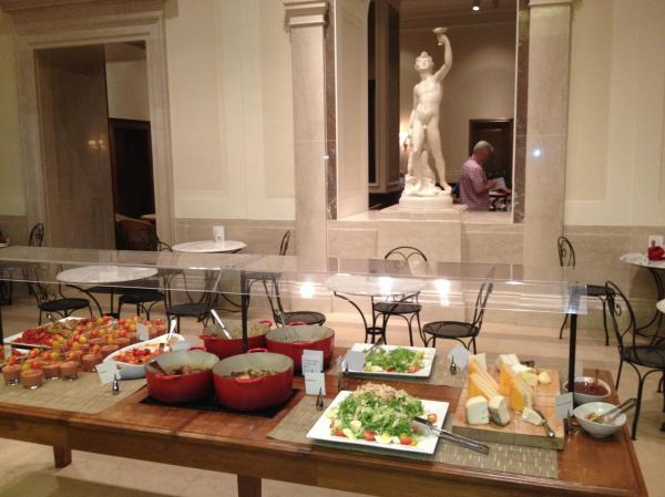 National Of Art Garden Cafe Washington Dc Food