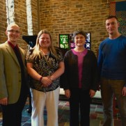 In 2015, Greg performed at Towson Presbyterian Church in a Lenten Service. (left to right; Greg Small [piano], Colynn Furgason [vocals], Lorene LaBerge [vocals], Stephen Harouff [piano]