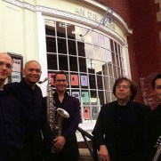 Greg joined Jazz One at An Die Musik, performing a tribute concert to Miles Davis and John Coltrane at the 2015 Free Fall Baltimore festival. (left to right; Greg Small [piano], Nucleo Vega [drums], Brian Perez [sax], Phil Ravita [bass], Ben Lostocco [drums].