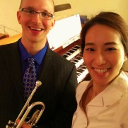 Greg returned to Ashland Presbyterian Church on Easter Sunday in 2016, performing with organist Yeri Jang, the Ashland Chancel Choir, and the Ashland Contemporary Ensemble.