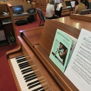 Greg returned to Ashland Presbyterian in July of 2017, playing piano in a service featuring music by the Arioso Wind Quintet.