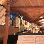 Greg returned to Saint Joseph Roman Catholic Church to play trumpet along with organist Lynn Trapp, harpist Peggy Houng, and the Saint Joseph Schola for 2017 Christmas Eve Masses celebrated by Archbishop Lori.