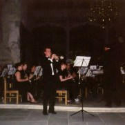 Greg performed the Haydn Trumpet Concerto with the Shepherd University Wind Ensemble (directed by Dr. Mark McCoy), on their 2001 concert tour of Ireland.