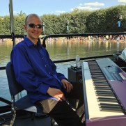 """In the summer of 2014, Greg performed with the DC-based big band Swingtopia at the """"Jazz in the Garden"""" concert series at the National Gallery of Art Sculpture Garden."""