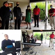 The Baltimore County Public Library hosted a jazz for kids concert live streamed in the early fall of 2020. Greg joined Rhonda Robinson (vocals, flute), Bob Jacobson (sax), Phil Ravita (bass), and Russell Hayward (drums) performing a mix of jazz standards and children's music.