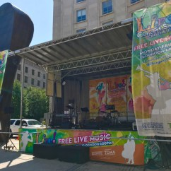 Greg performed with the Grasso-Ravita Jazz Ensemble in September of 2021 in DC at the Ronald Reagan Building's Woodrow Wilson Plaza. As part of the Live! Concert Series on the Plaza lineup, the group played music from its debut recording, Jagged Spaces.