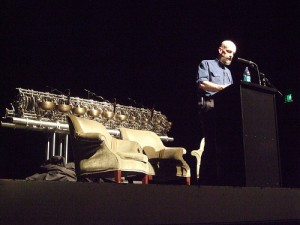 Neal Stephenson reads from Anathem