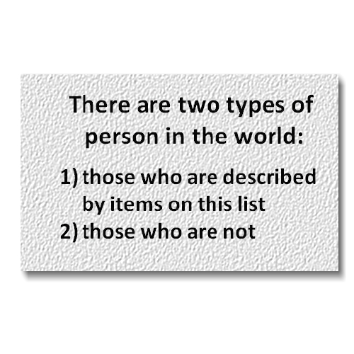 Types of Person