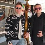 Greg Stevens and Lucien Greaves at the Sundance Film Festival in Salt Lake City.