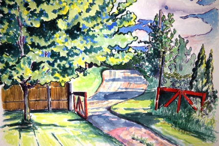Gate and Maple