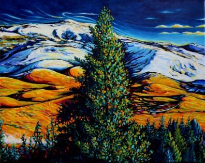 Grizzly Peak - Mid December - Panel 2