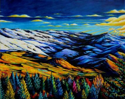 Grizzly Peak - Mid December Panel 3