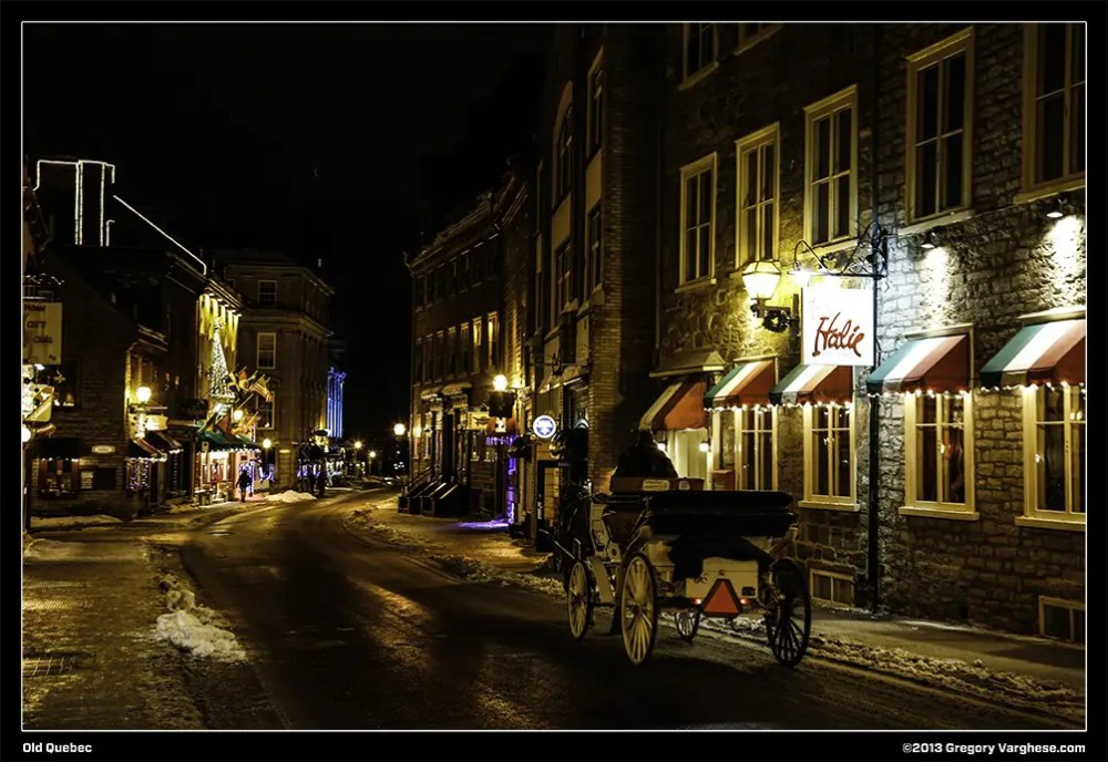 Old Quebec – Part 1