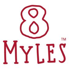 8 Myles logo