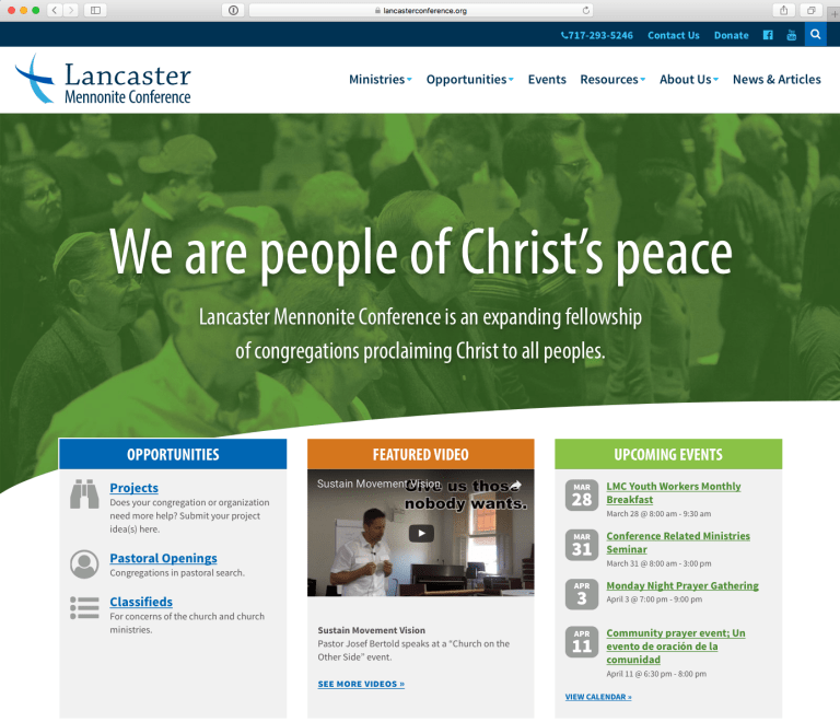 LMC website screenshot