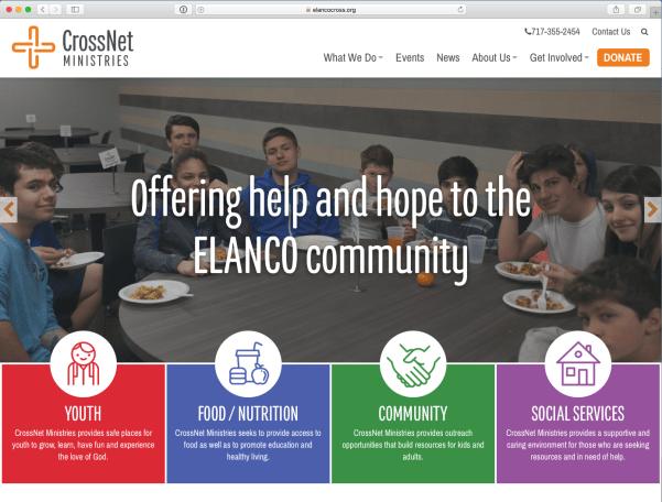 CrossNet website screenshot