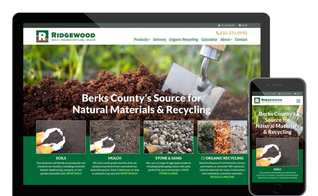 Ridgewood website