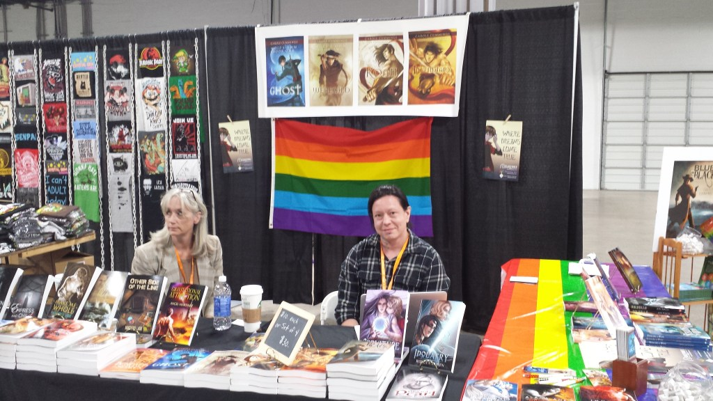 Nijicon 2015 Vendors--Dreamspinner Press
