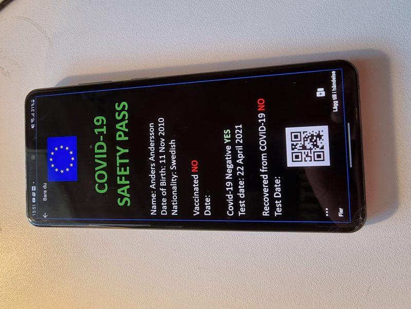 EU-pass Dummy