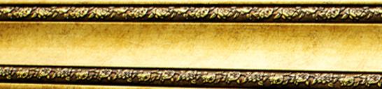 antique-gold-chair-rail