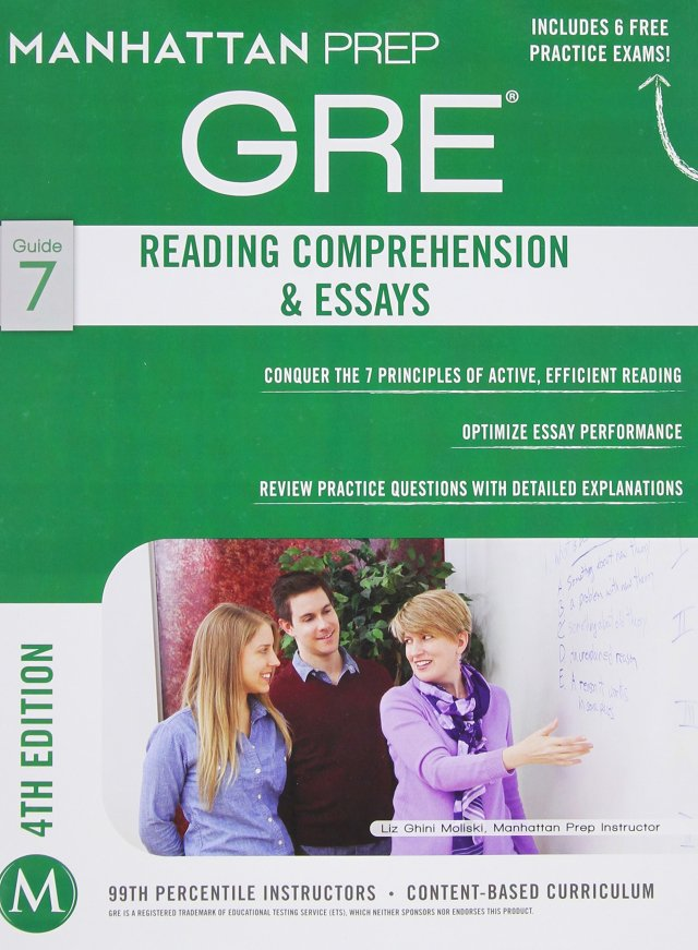 The Reading Comprehension & Essays GRE Strategy Guide