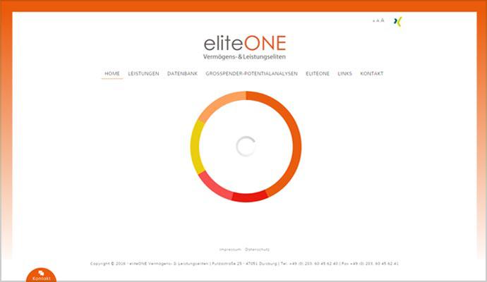 Beispiel Webseite von greme.de - eliteONE Vermögens- & Leistungseliten