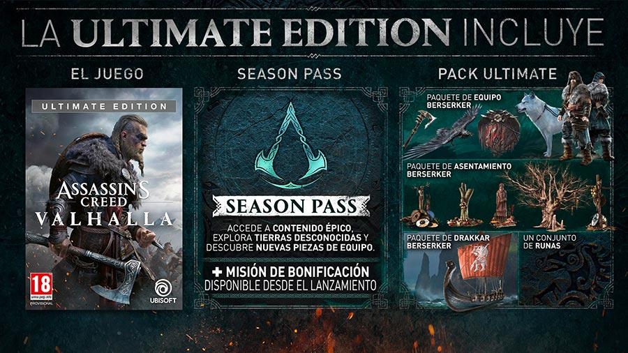 Ultimate Edition de AC Valhalla