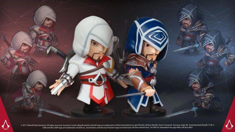 Figuras del Ezio de Soul Hunters