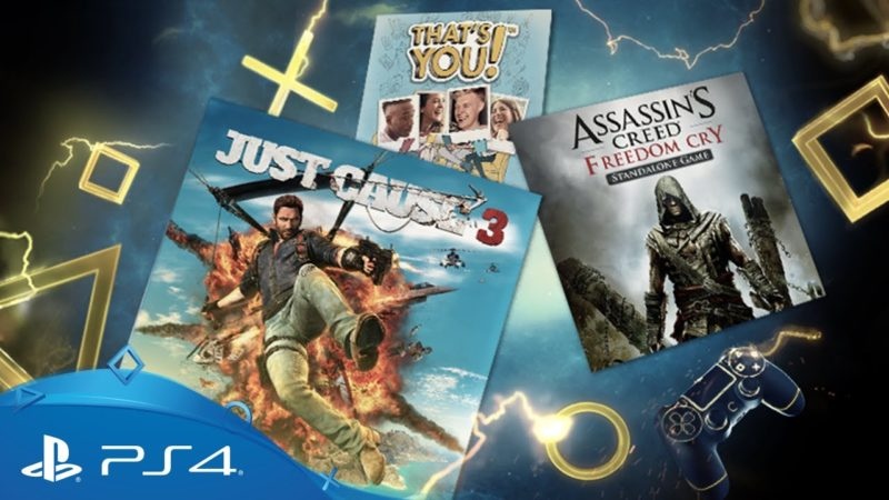 PS Plus Agosto '17 con AC Freedom Cry