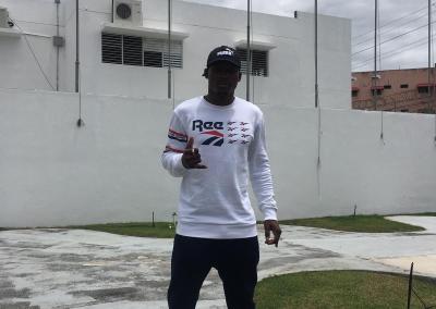 Rowan Charles Training Camp in Santo Domingo, Dominican Republic in April 2019