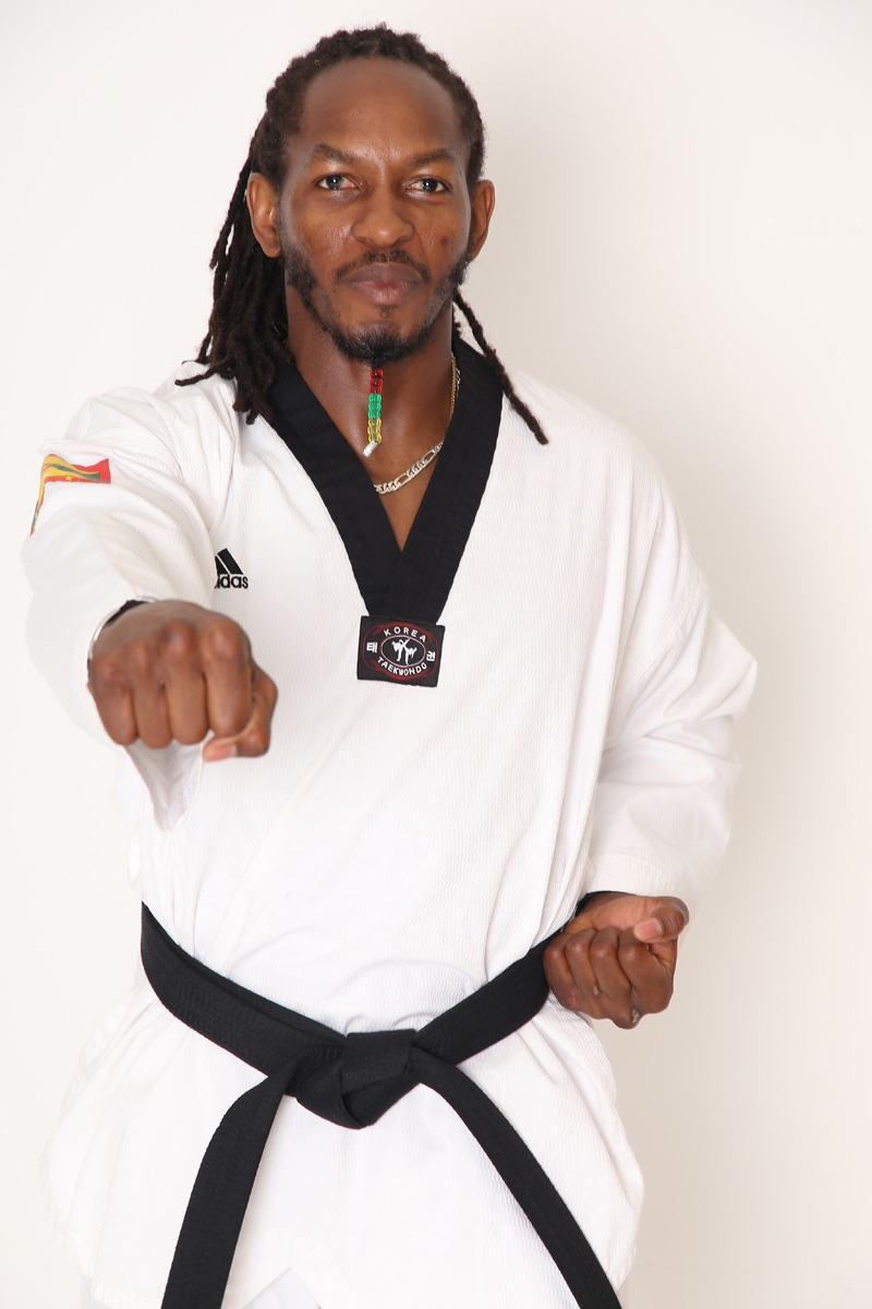 Fronzie Charles Grenadian Senior Taekwon-do Athlete