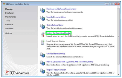 Instalación de SQL Server 2008 Express Edition sobre Windows 7 (4/6)