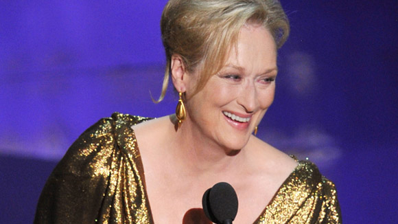 Bet you'd never catch Meryl Streep doing this…