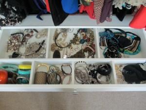 accessories drawer