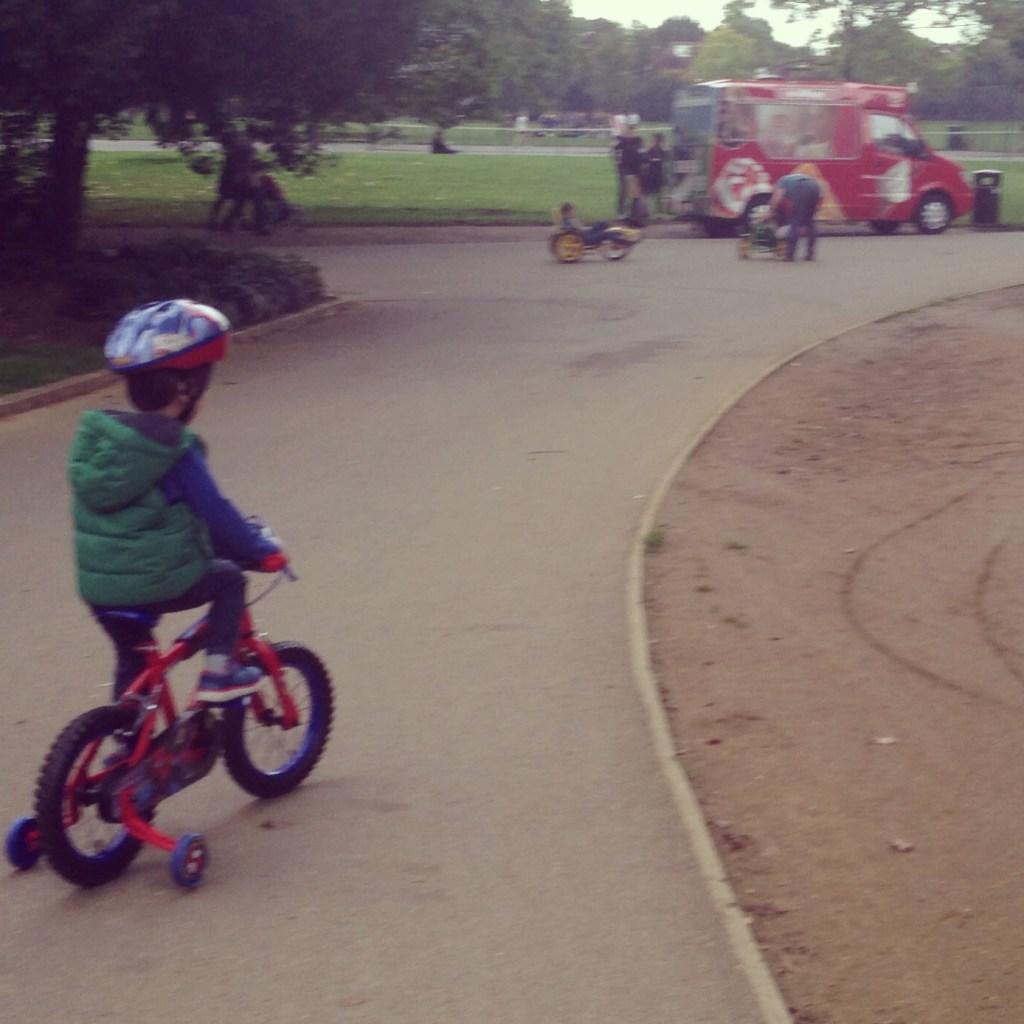 spiderman bike