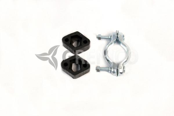 Schalldämpferset + Montagesatz CITROEN SAXO 1.1 1.4 2000