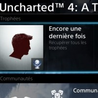 [Trophee]Platine 120:Uncharted 4 :Thief's end