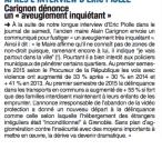 """Alain Carignon a dénoncé cet """"aveuglement inquiétant"""""""